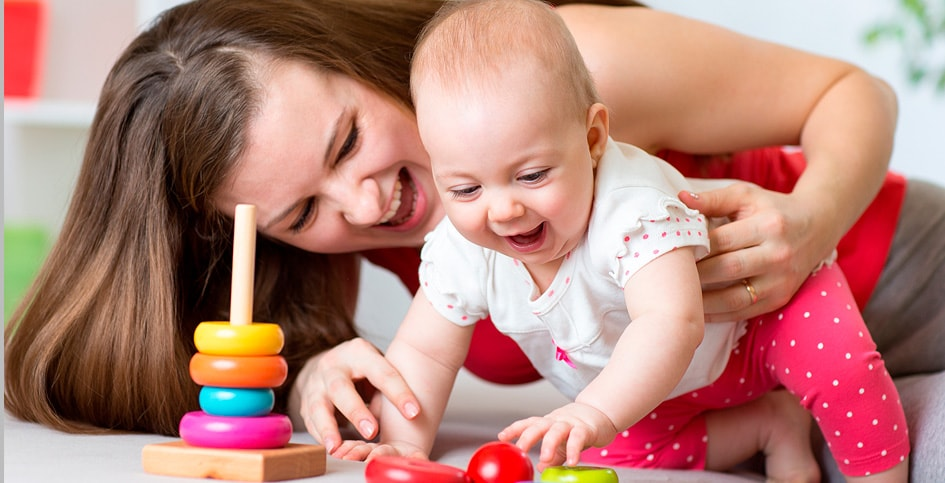 Our toddler classes are for children between the ages of 12-24 months.